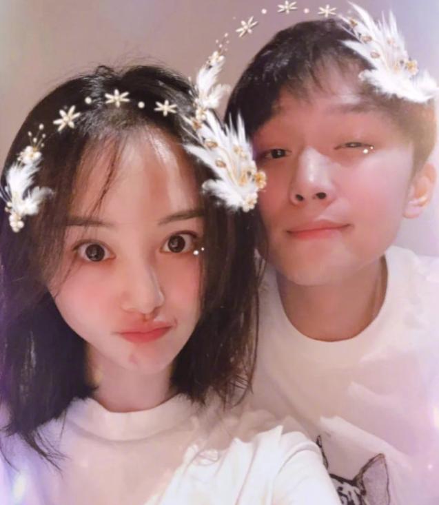 중국 배우 정솽과 방송인 장헝. 사진=웨이보 캡처.