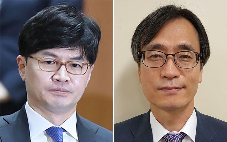 한동훈 검사장과 정진웅 광주지검 차장검사(오른쪽) [이미지출처=연합뉴스]