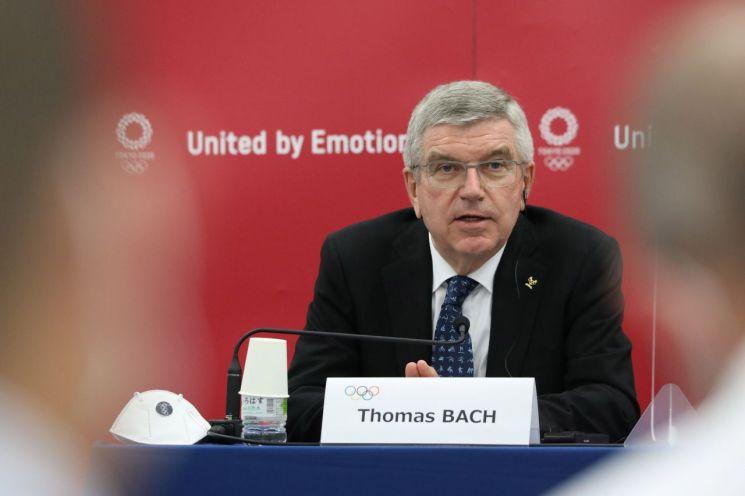 토마스 바흐 국제올림픽위원회(IOC) 위원장 [이미지출처=EPA연합뉴스]