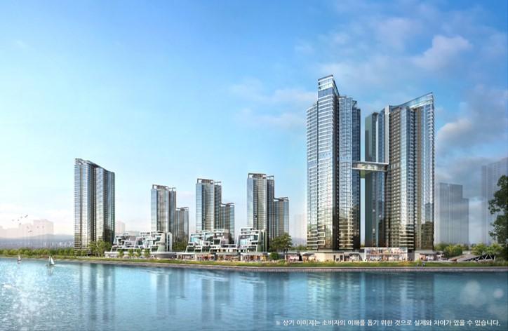 GS건설, 주거 쾌적성 높은 송도국제도시에 '송도자이 크리스탈오션' 분양