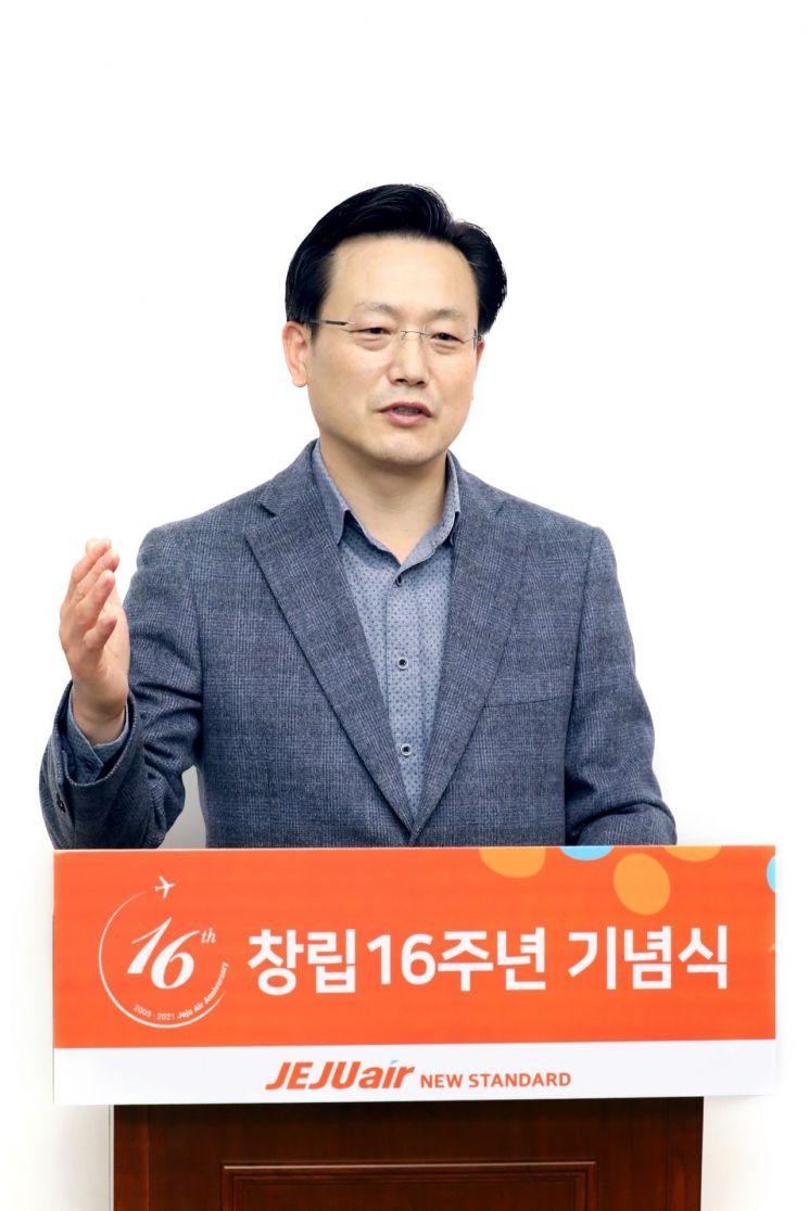 김이배 제주항공 대표이사