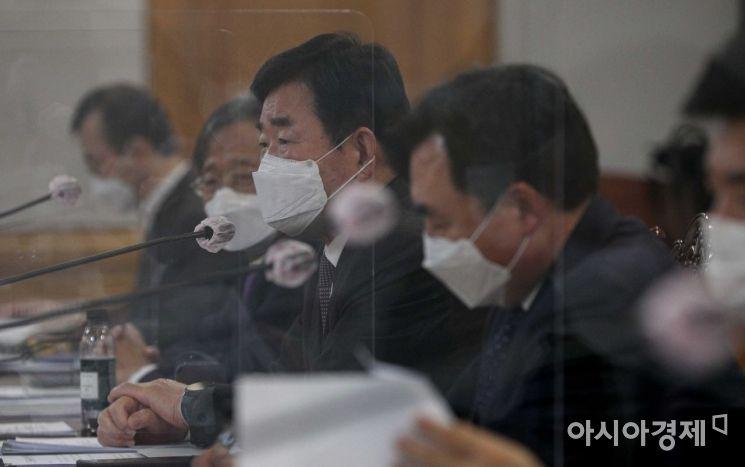 [포토]모두발언하는 김진표 의원