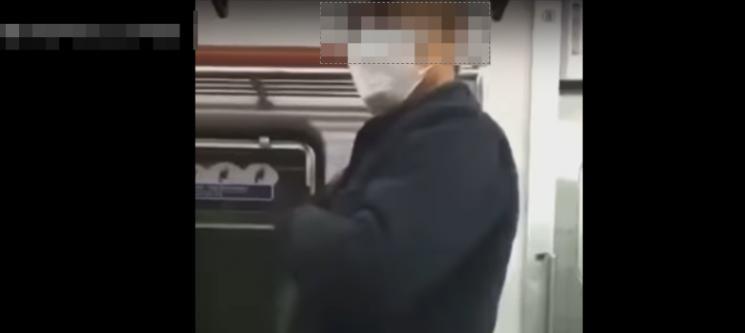 """""""야 노인네 시XX야"""" 지하철서 노인 폭행 욕설한 중학생 시민들 '공분'"""