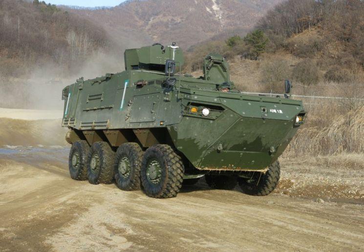 현대로템, '차륜형 지휘소 차량' 개발