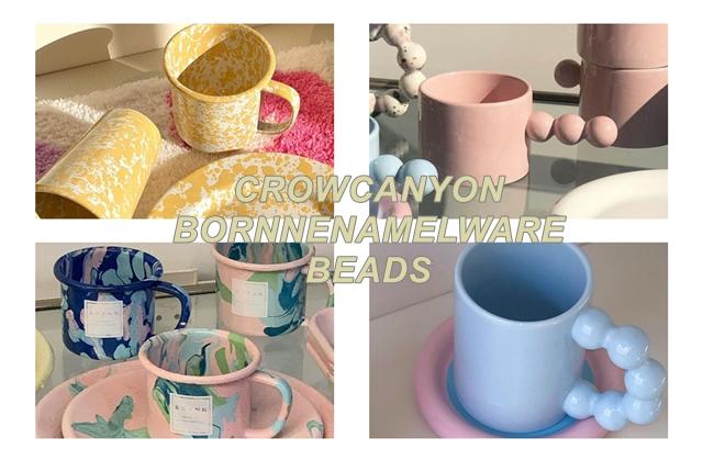사진=크로우캐년, 본에나멜웨어, make.a.pottery_official SNS