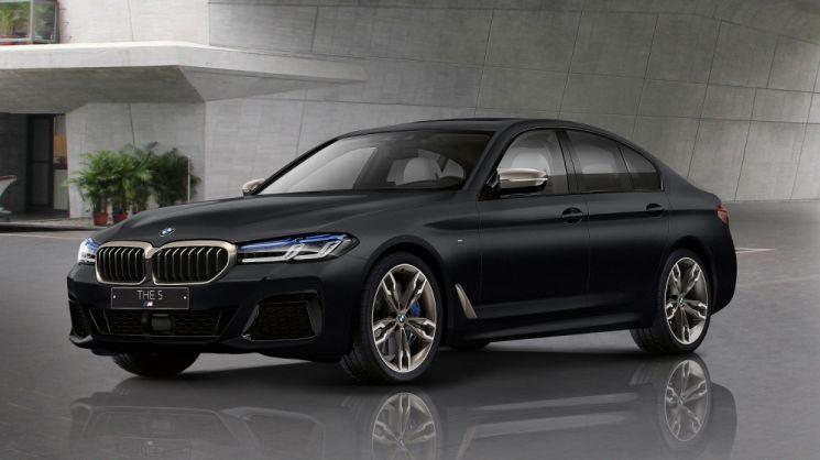 BMW 뉴 M550i xDrive 프로즌블랙  [사진제공=BMW 코리아]