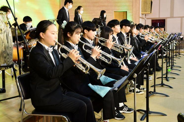 곡성 군립 청소년 관현악단 창단 연주회, 군민들 관심 높아