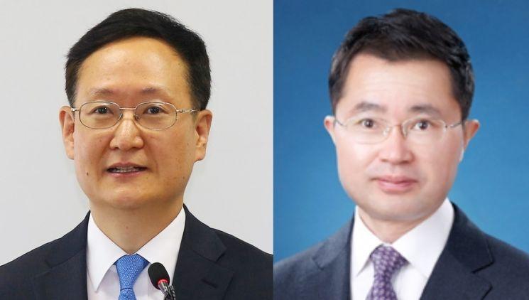 봉욱 전 대검 차장검사(왼쪽)와 여운국 전 서울고법 고법판사.