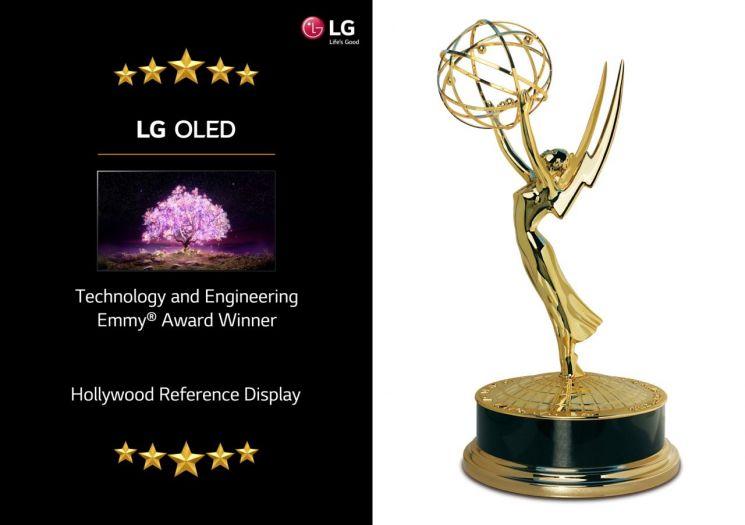 LG 올레드TV, 미국 기술공학 에미상 수상