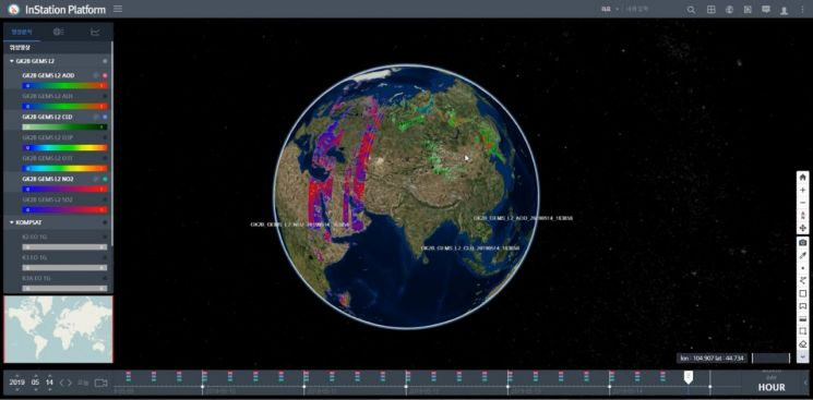한컴인스페이스-네이버클라우드 지상국 시스템 개발…국내 최초