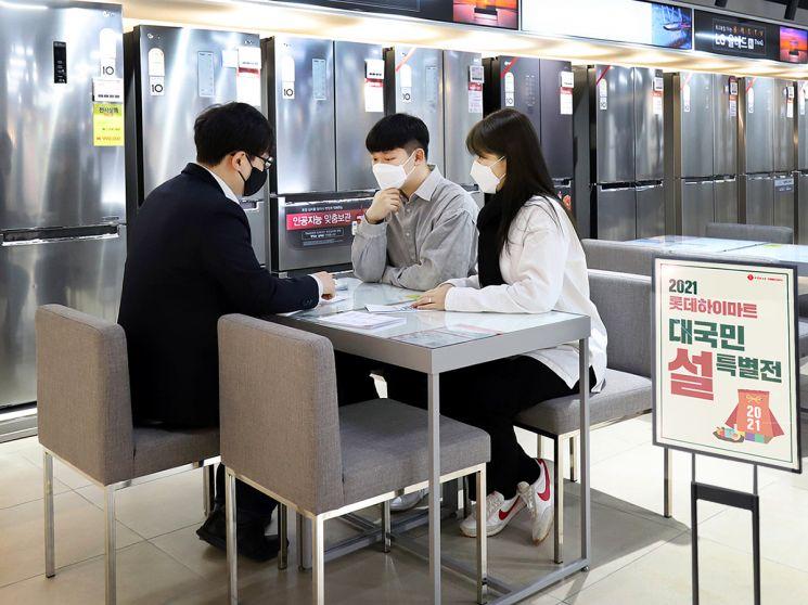 롯데하이마트는 다음달 온·오프라인 설 선물 기획전을 진행한다.