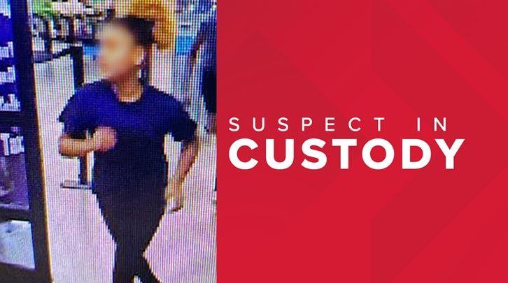 미국 루이지애나주 한 월마트에서 한 소녀를 집단폭행해 숨지게 한 가해소녀들 중 한 명의 수배사진. / 사진=인터넷 홈페이지 캡처