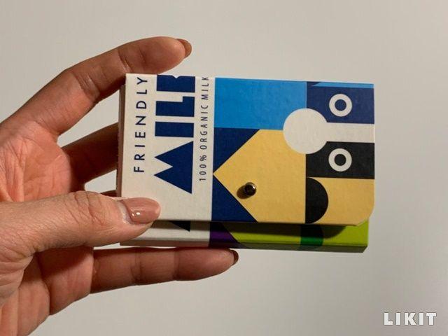 새활용 입은 우유팩 카드집