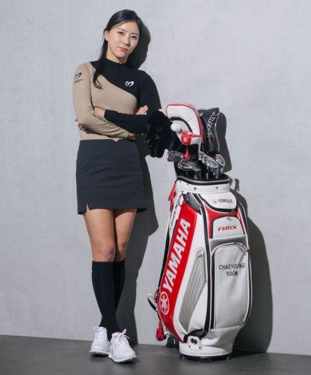 윤채영은 올해도 2014년 첫 우승 도우미인 야마하골프의 신제품을 장착했다. 사진=야마하골프