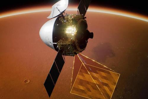 미중 탐사선, 화성 궤도 진입 … 화성 시대 서곡