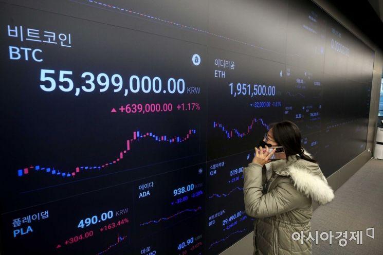 [포토]'비트코인 상승 어디까지?'