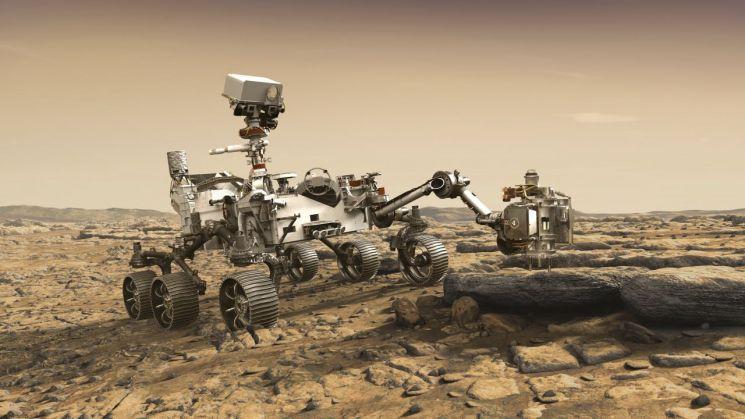 미국 화성탐사선 퍼서비어런스호 이미지 [이미지출처=AP연합뉴스]