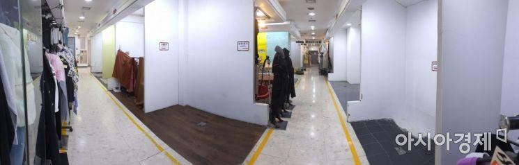 [포토] 코로나19 장기화...비어가는 패션몰 점포