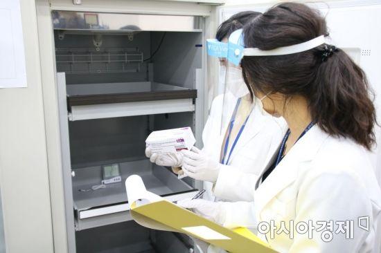 전남도, 코로나19 백신 관리 강화 '현장 점검'