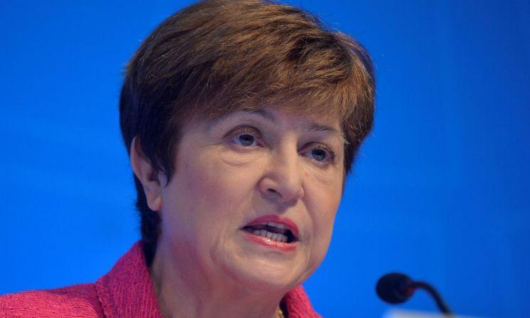 크리스탈리나 게오르기에바 IMF 총재  [이미지 출처= 로이터연합뉴스]