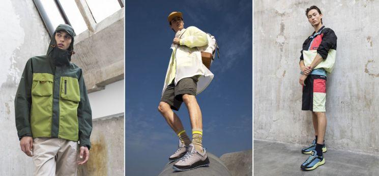 하이-비스 컬렉션의 에코리지널 재킷 및 대표 제품