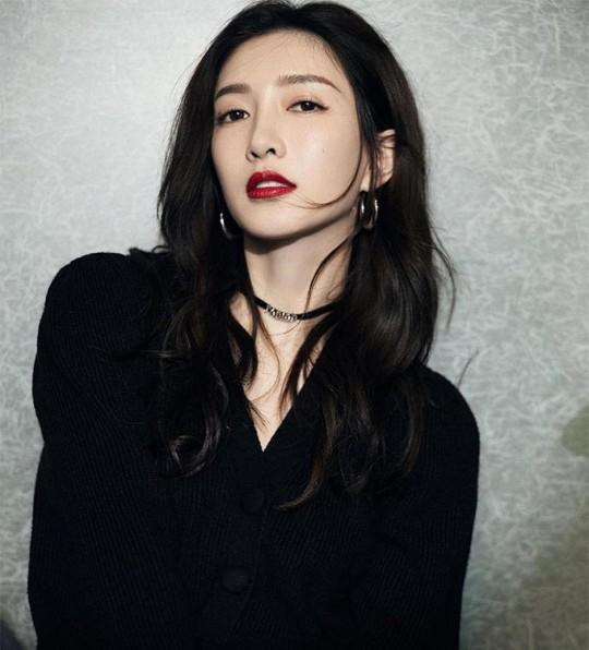 중국 배우 장수잉(江疏影). 사진=장수잉 인스타그램 캡처.