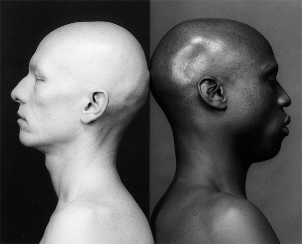 메이플소프의 'Ken Moody and Robert Sherman'(1984, Silver gelatin, 40.64×50.8㎝).