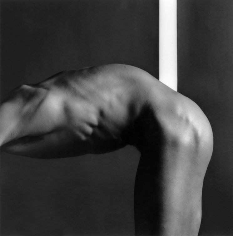 메이플소프의 'Milton Moore'(1981, Silver gelatin, 50.8 x 40.64 cm)