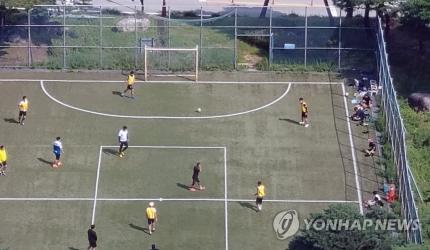 한 축구장 모습. 사진은 기사 중 특정 표현과 관계 없음. / 사진=연합뉴스