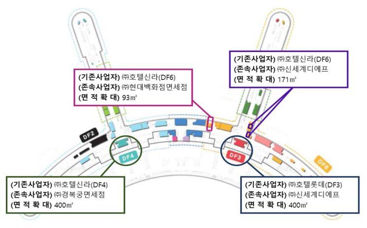 인천공항 T1 종료 면세점, 신세계·현대 등 임시운영