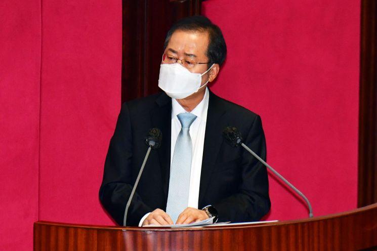 홍준표 무소속 의원. [이미지출처=연합뉴스]