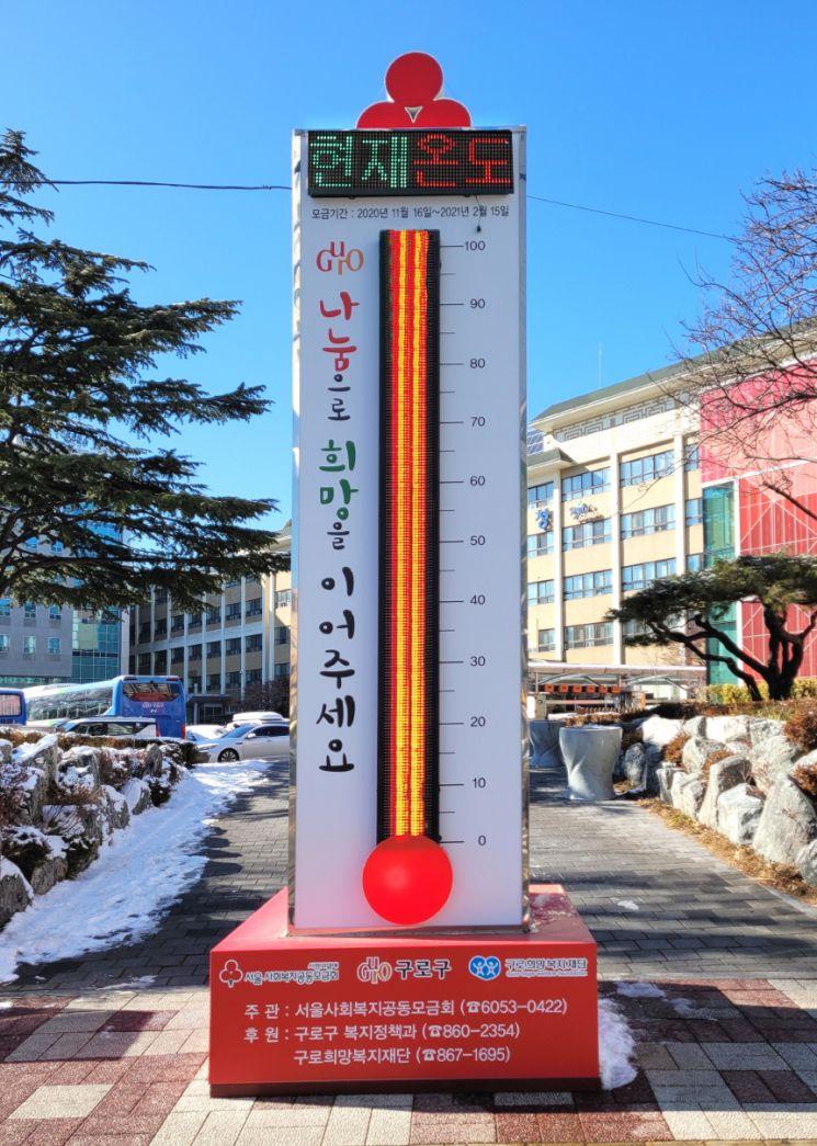 구로구 '따뜻한 겨울나기 성금' 248% 달성한 비결?