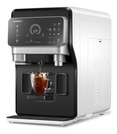 청호, 새로운 커피머신 얼음정수기 '청호 에스프레카페' 출시