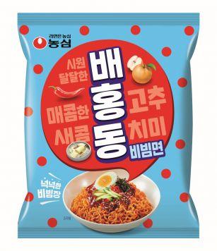 농심 '배홍동비빔면', 출시 4주 만에 700만개 판매