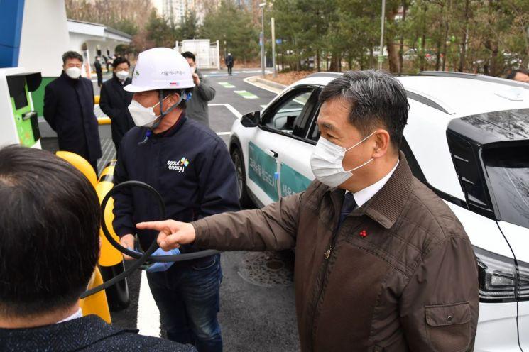 '양재수소충전소' 충전능력 2배 이상 커진다…내달 1일 재개장