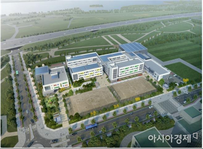 강빛초·중학교 조감도(자료제공=서울시교육청)