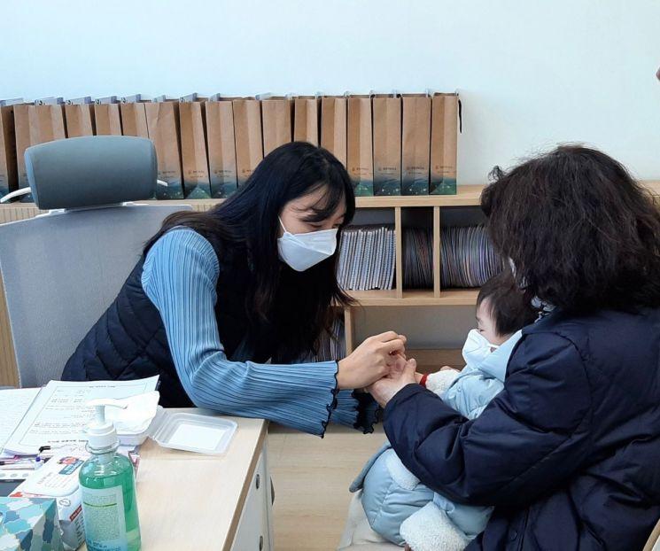 양천구 보건소, 영유아 영양플러스 상담 사진
