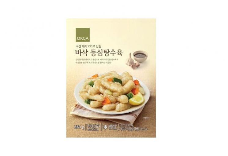 올가홀푸드, 중화요리 간편식 '바삭 등심탕수육' 출시