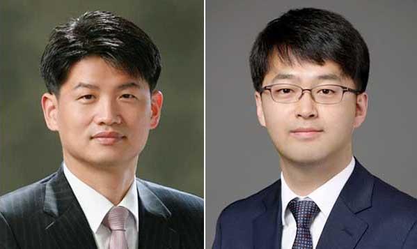 정원 변호사(사진 왼쪽)와 조희태 변호사