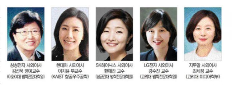 여성 사외이사 영입 속도 내는 재계…4대 그룹, '미래사업 전문가' 모시기 경쟁