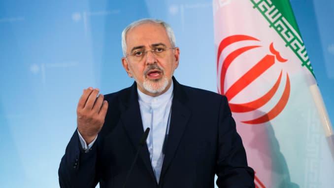 모하마드 자바드 자리프 이란 외무장관(출처:CNBC)
