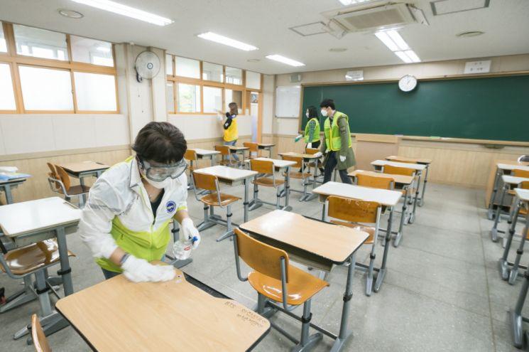 양천구, 새 학기 대비 학교방역 도우미 인력지원