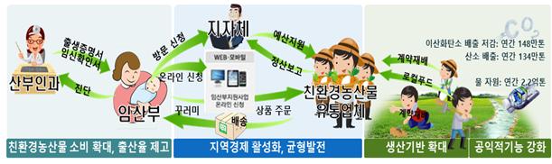 경기도 임산부 3만명 '친환경농산물' 공급받는다…최대 48만원