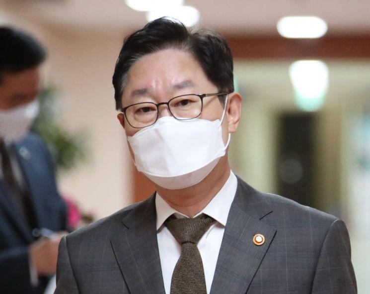 박범계 법무부 장관 [이미지출처=연합뉴스]