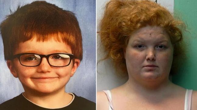 지난 27일(현지시각) 미국 오하이오주에서 엄마에게 버려진 아이가 엄마 차에 매달렸다가 떨어져 숨졌다. 사진=미국 미들타운 경찰서 제공.