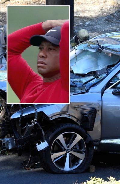 타이거 우즈가 사고 당시 졸음운전을 했을 가능성이 보도됐다.