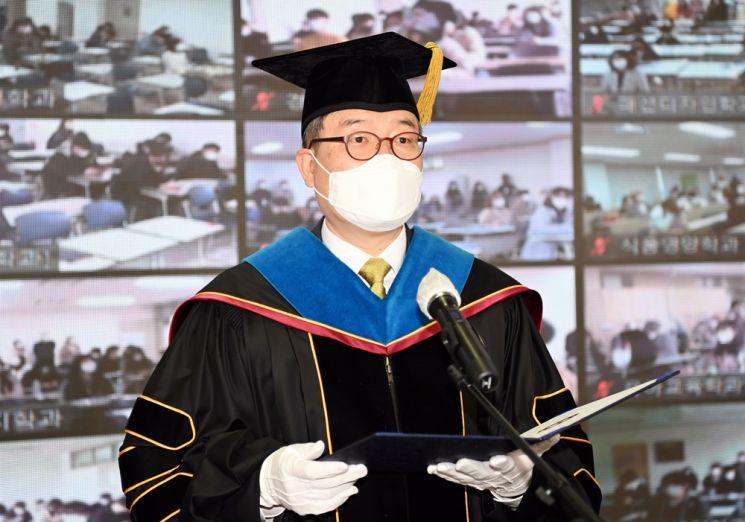 호남대, 국내 대학 최초 '블렌디드 입학식' 진행