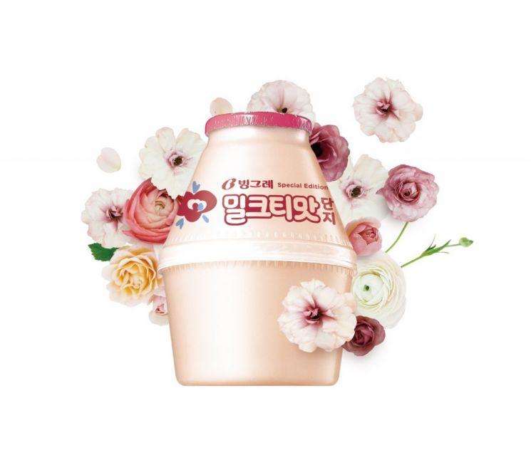 공차 적수 등장…빙그레, '밀크티맛단지' 출시