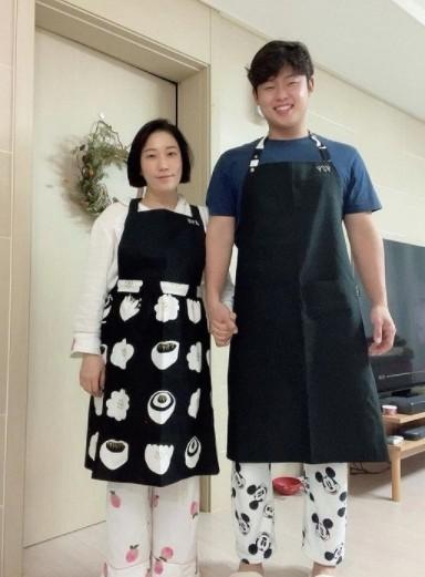사진=김영희 SNS 캡처.
