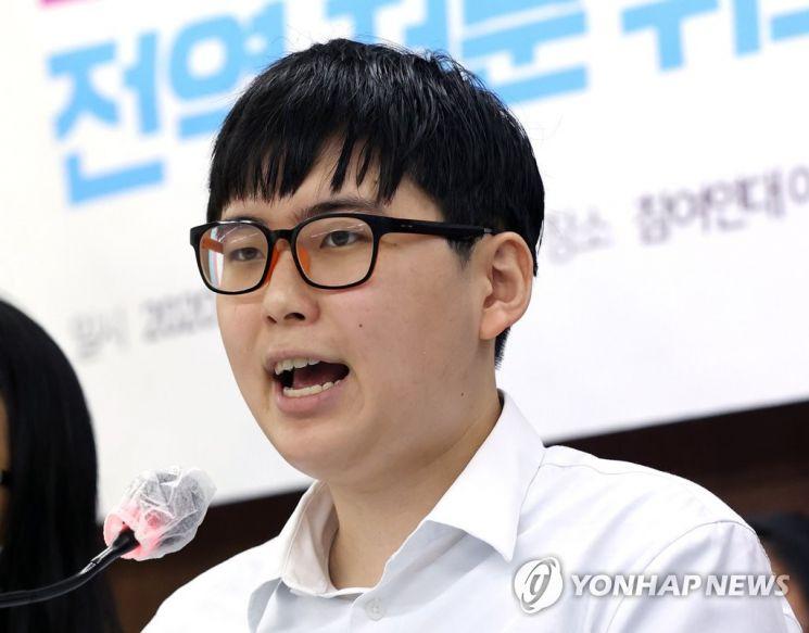 변 전 하사는 지난해 8월 대전지법에 자신의 전역처분 취소를 위한 행정소송 소장을 제출했다. / 사진=연합뉴스